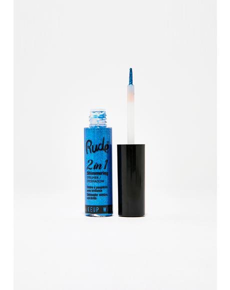 Sapphire 2 In 1 Shimmering Eyeliner N' Eyeshadow