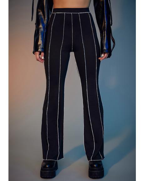 Livin' Reckless Contrast Stitch Pants