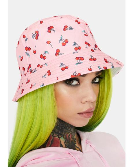 Kiss Not So Tart Bucket Hat