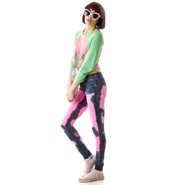 Wildfox Couture Foolish Love Carmen Skinny Jeans