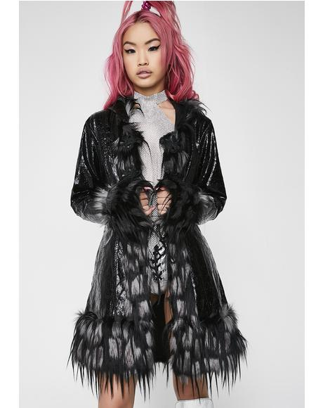 Opulent Asylum Faux Fur Jacket
