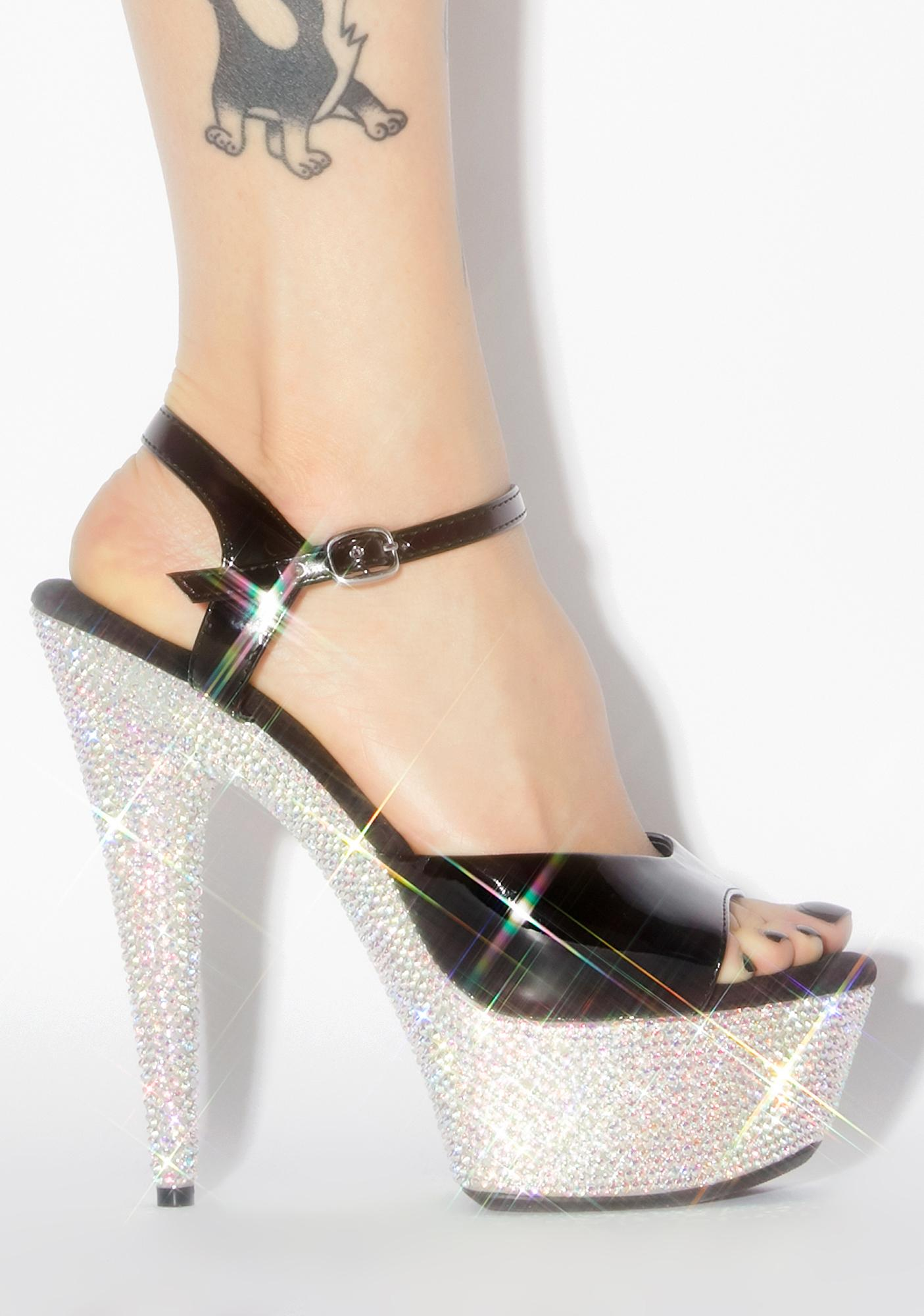 Out To Lunch Platform Heels