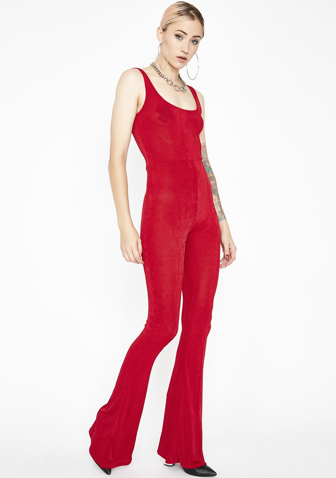 Hot As Hell Tank Jumpsuit