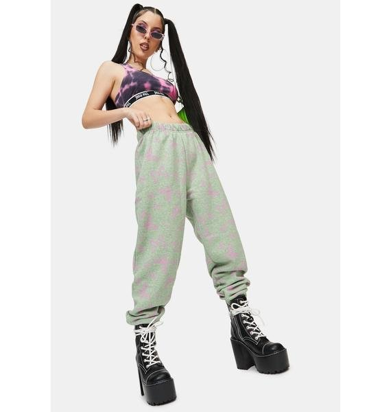 NEW GIRL ORDER Acid Butterfly Joggers
