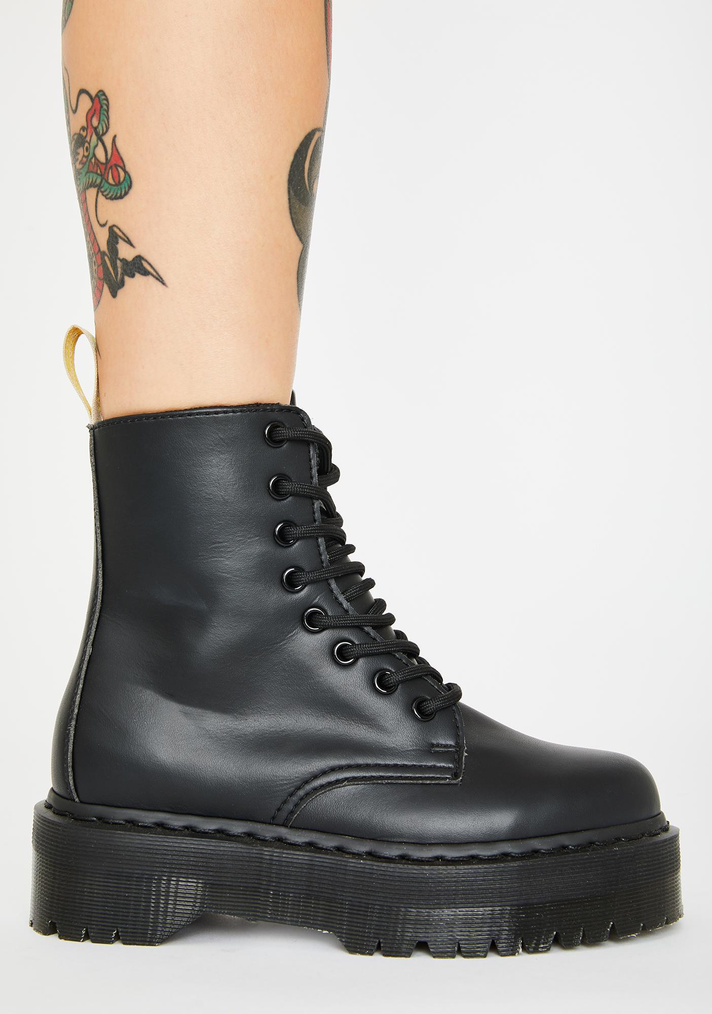 Dr. Martens Vegan Jadon II Mono Boots