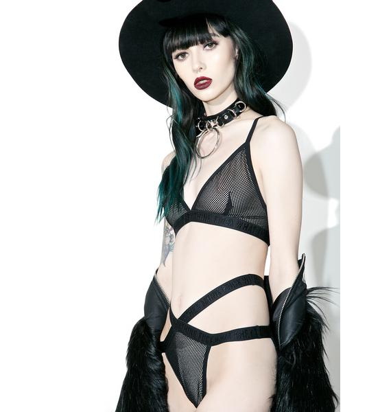 Killstar Vix-Sin Fishnet Panty