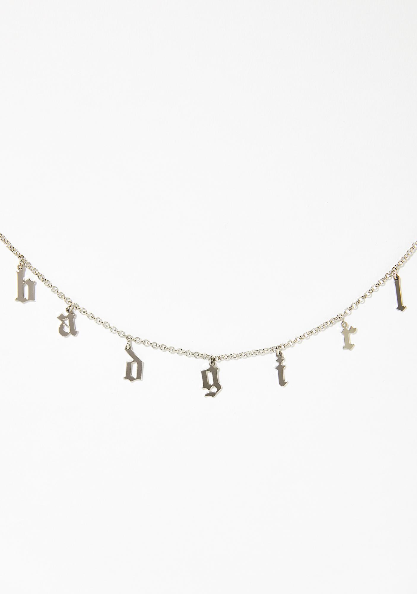 Imma Bad Grl Chain Necklace