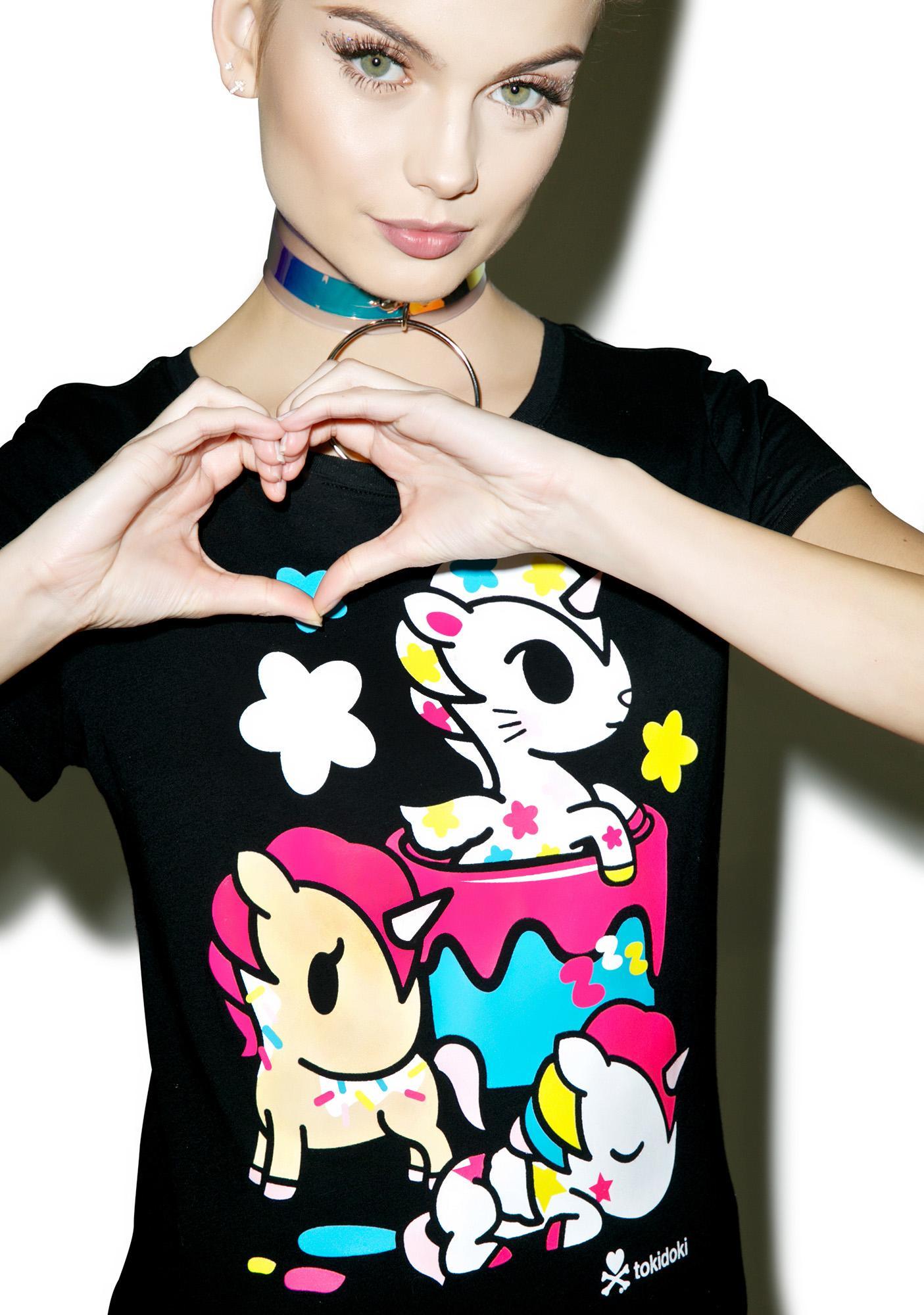 Tokidoki Painted Ponies T-Shirt