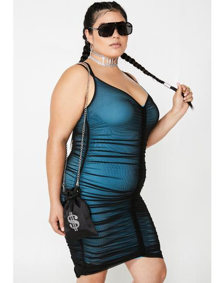 Bae Swipe Right Mesh Dress