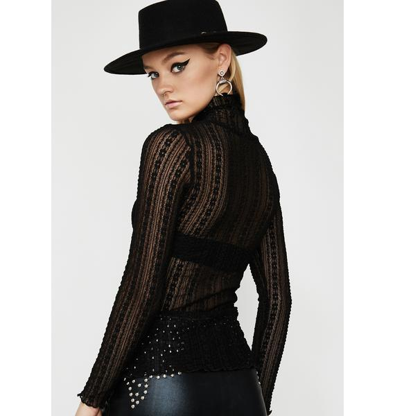 Worst Witch Lace Top