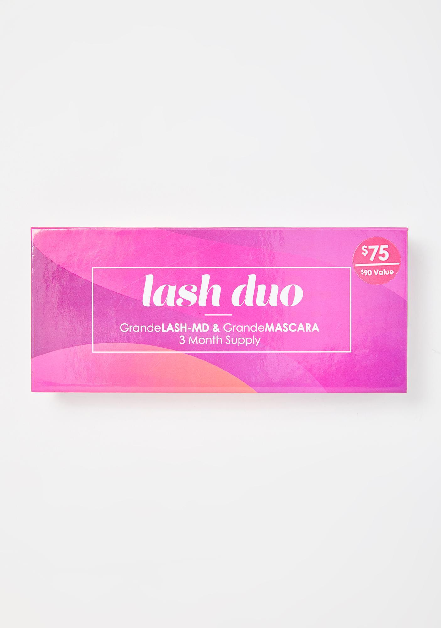 Grande Cosmetics Lash Duo Serum N' Mascara Set
