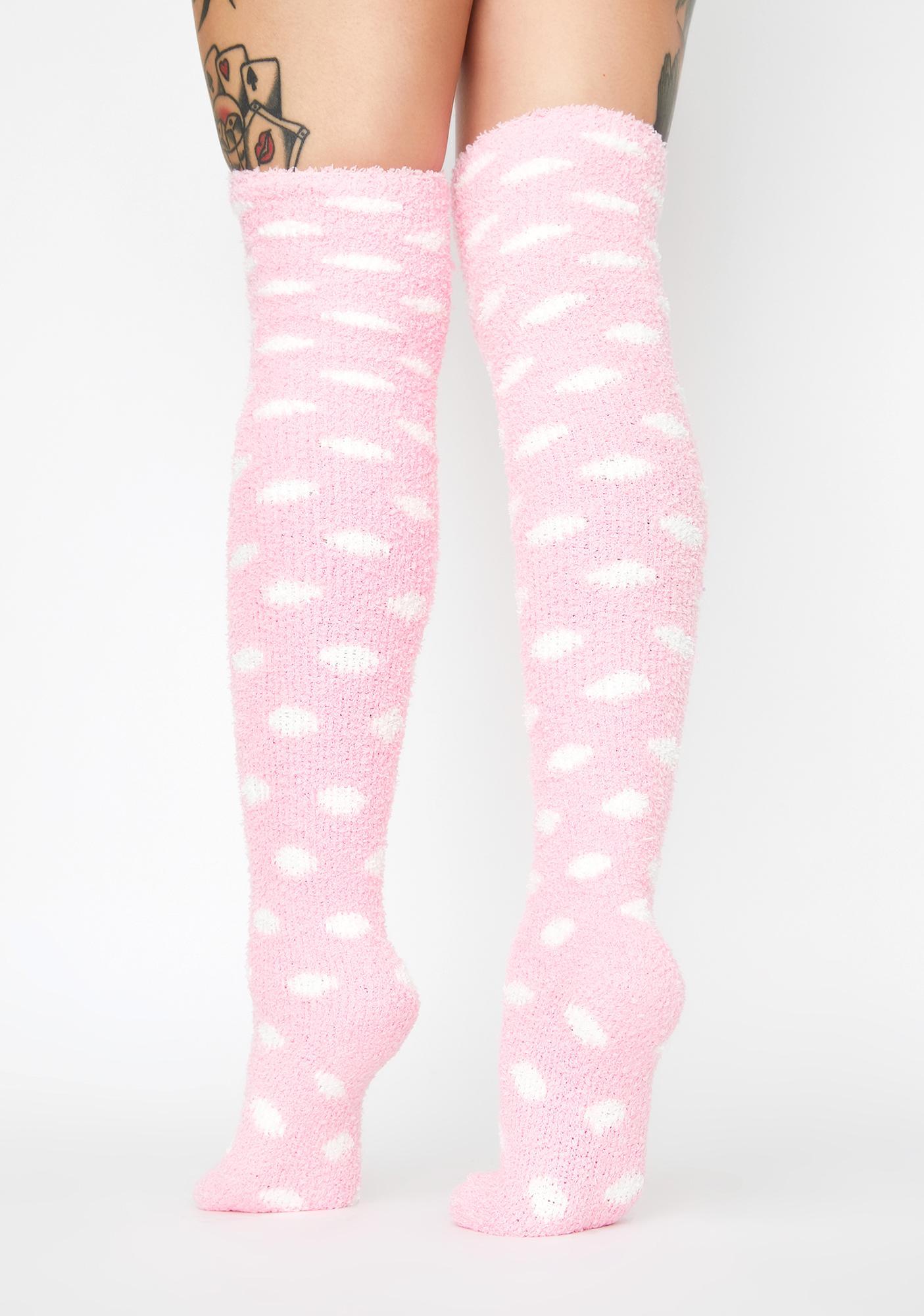 "Multi Color Striped Knee High Socks LIME fits 18/"" American Girl Dolls"