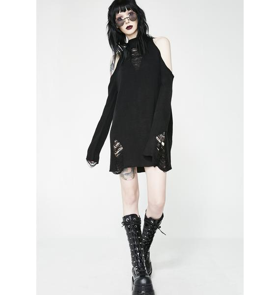 Killstar Depths Of Darkness Knit Sweater