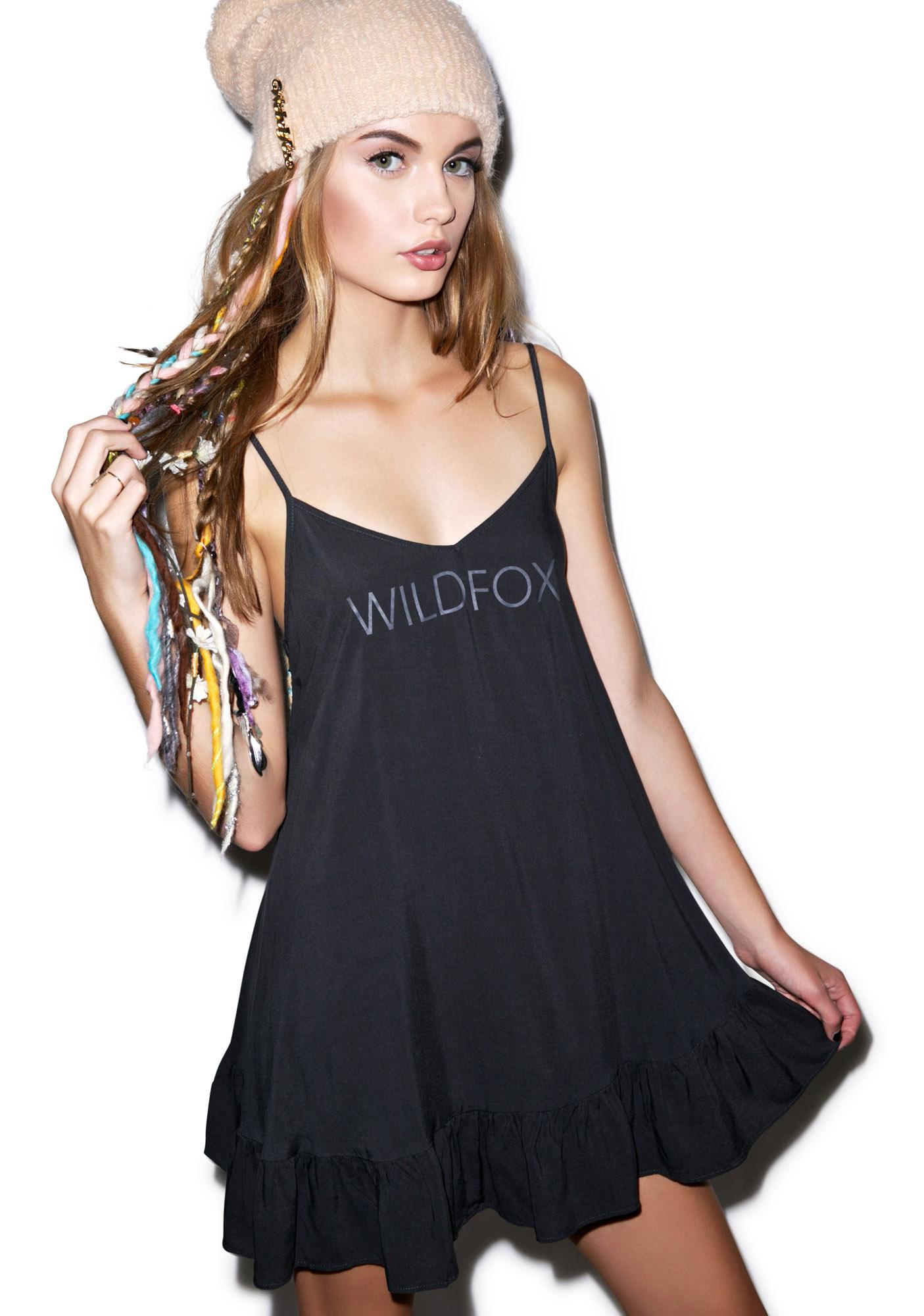 Wildfox Couture Wildfox Ruffle Corset Slip