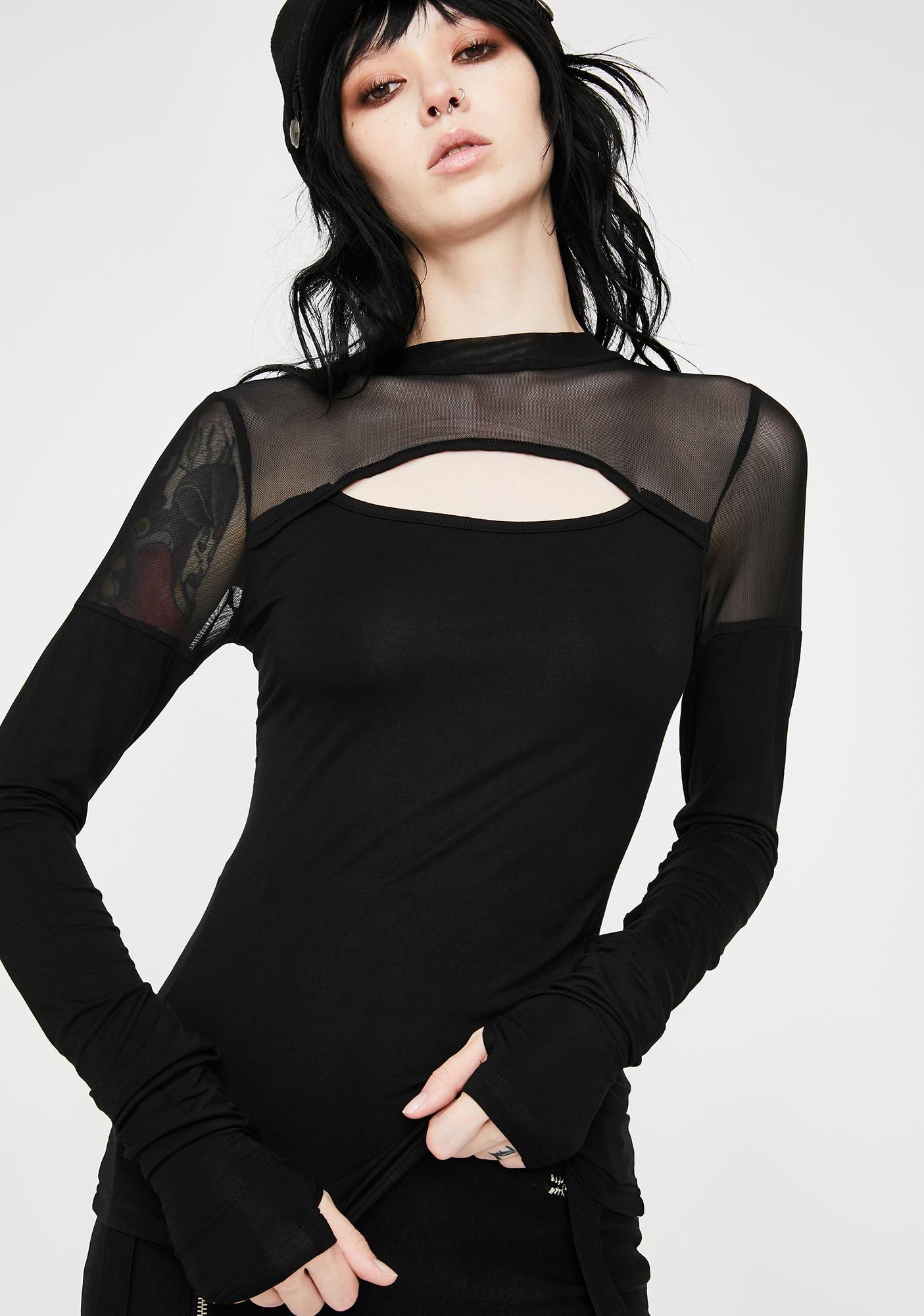 Killstar Tori Long Sleeve Top