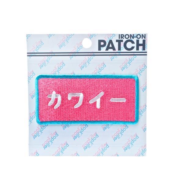 Pop Killer Kawaii Patch
