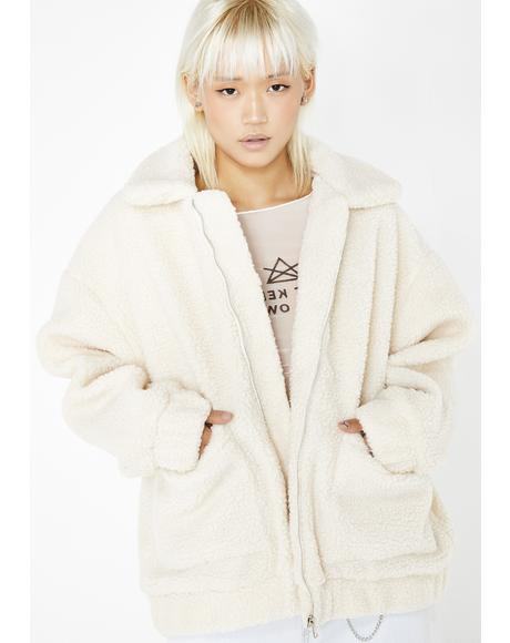 Cream Pixie Coat