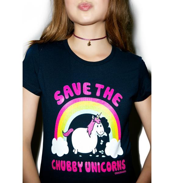 Chubby Unicorn Tee