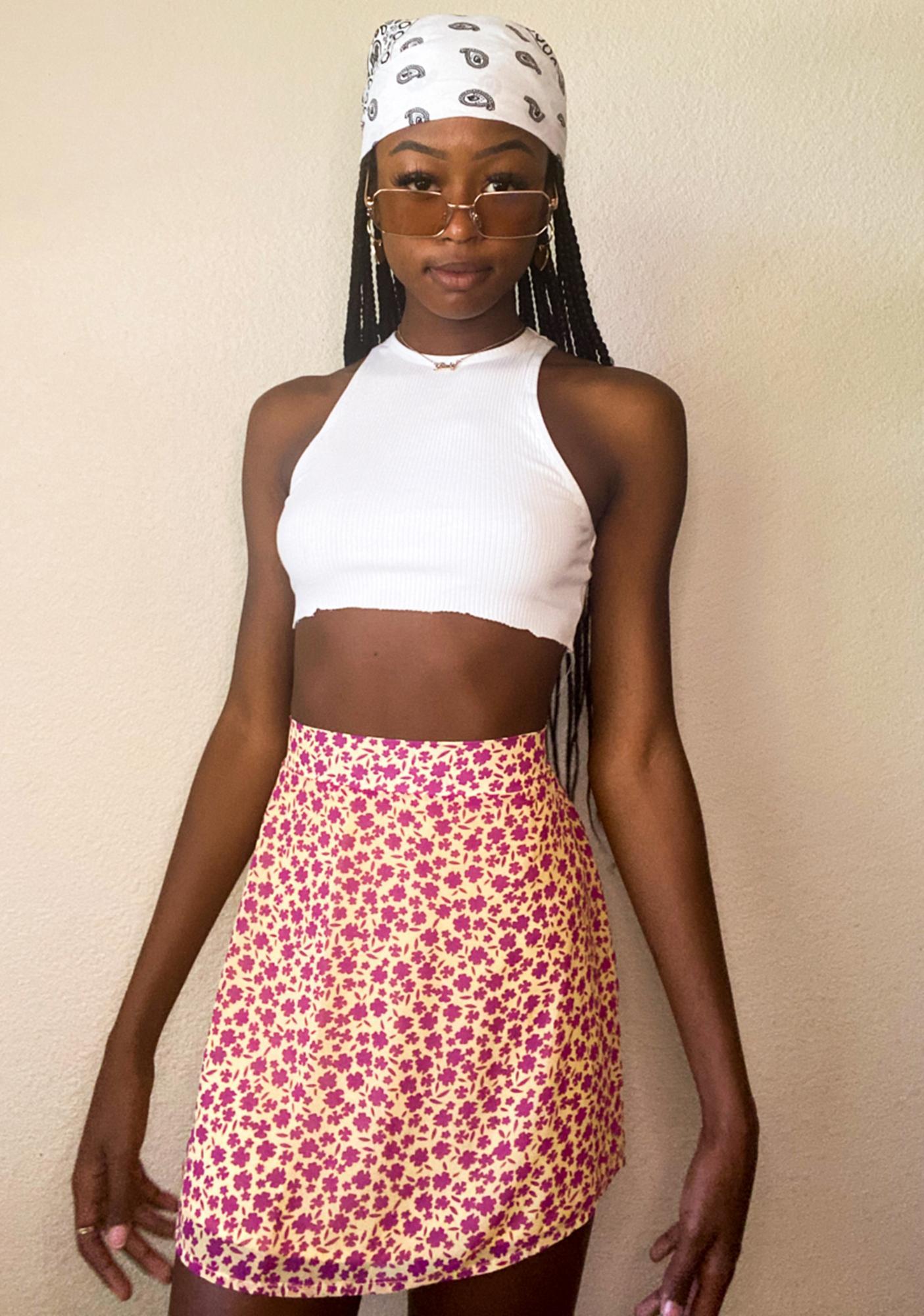 Summer Sun Mini Skirt