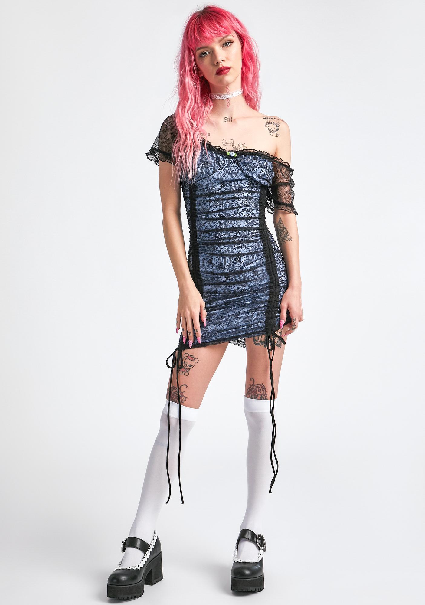dELiA*s by Dolls Kill For What It's Worth Mini Dress