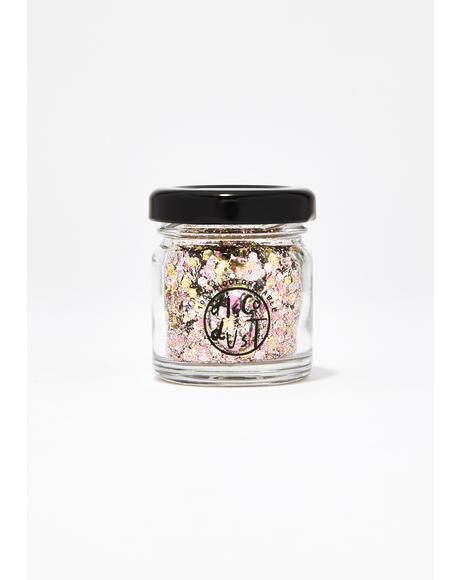 Metallic Rose Extra Chunky Bio Glitter