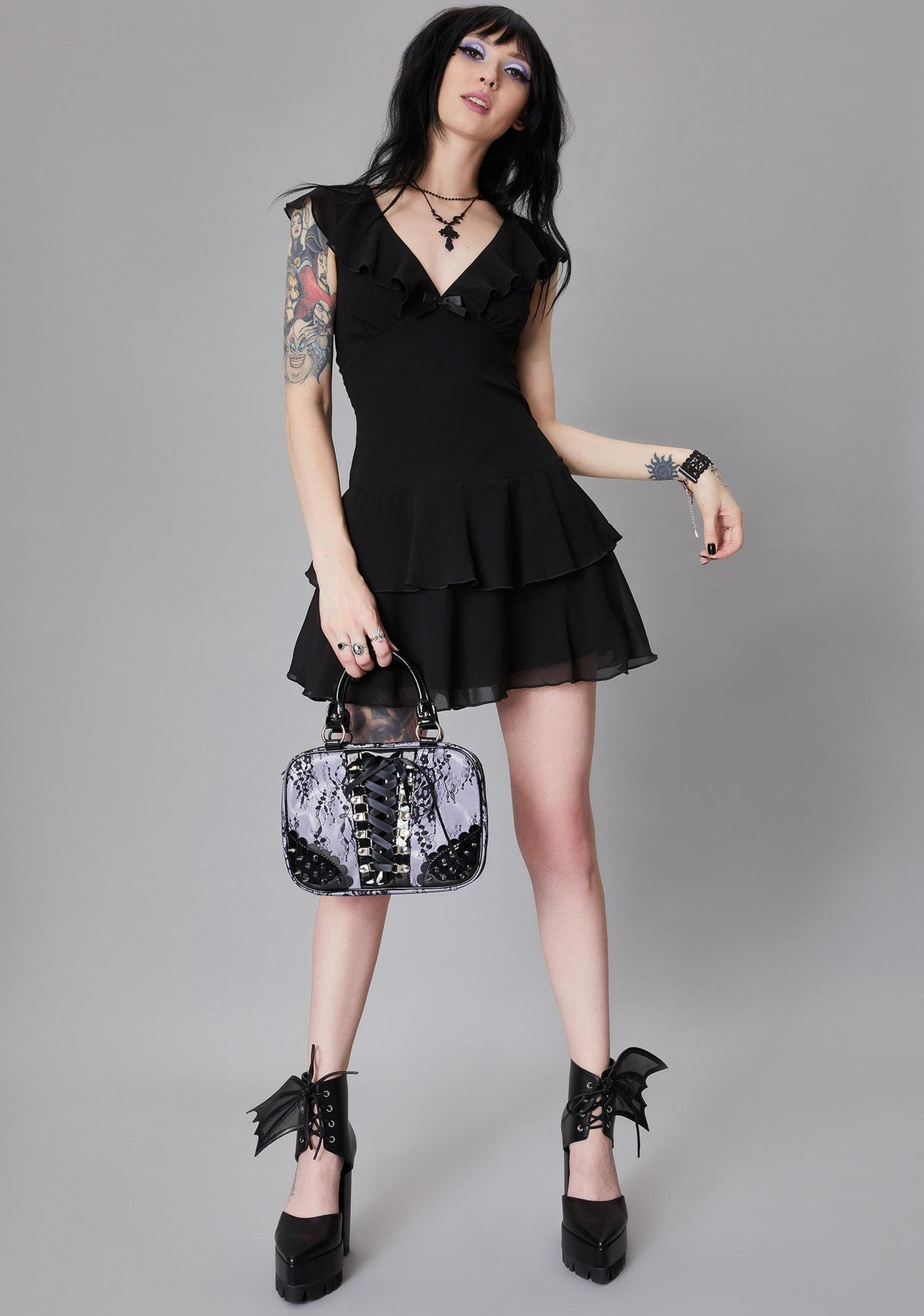 Widow Graveyard Stroll Babydoll Dress
