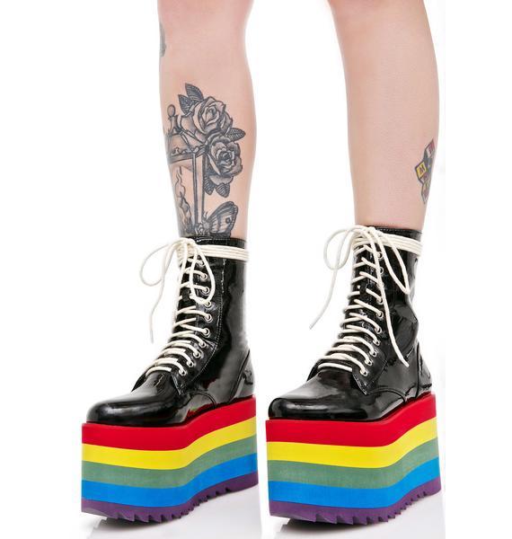 Current Mood Rainbow Stacked Platform