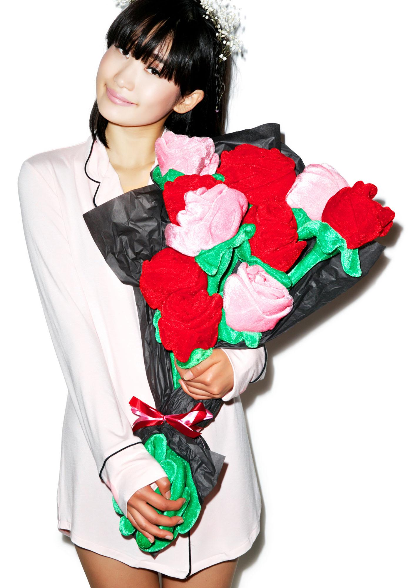 The Tuxedo Mask Rose Bouquet