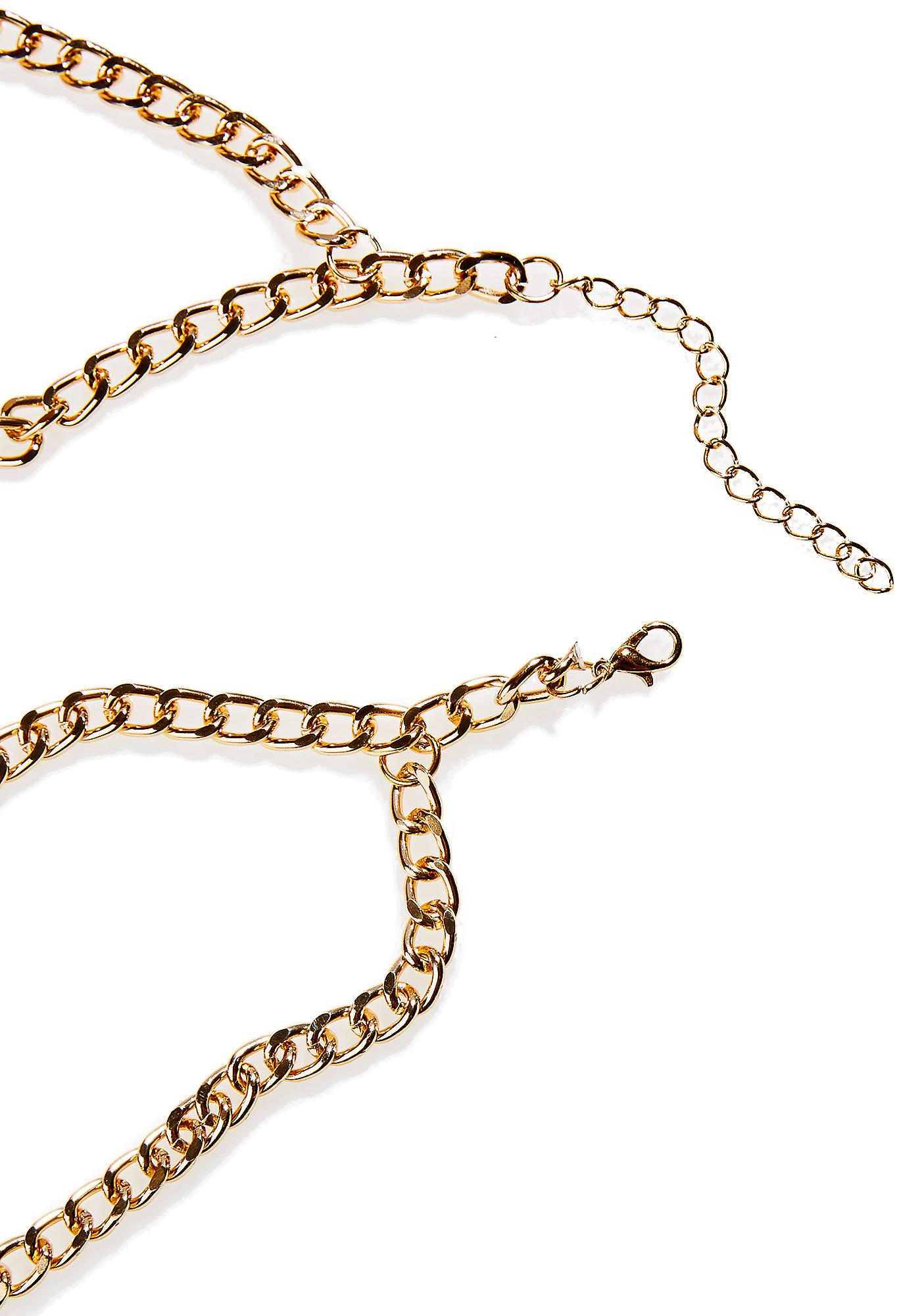 Esmeraude Body Chain