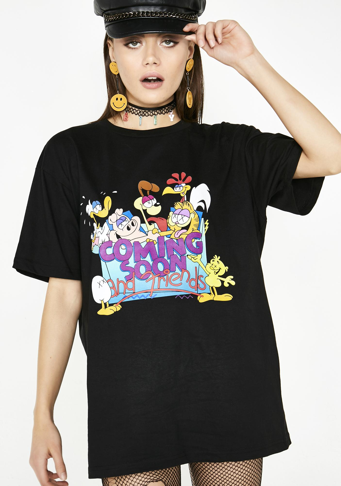 Coming Soon Gnarfield T-Shirt