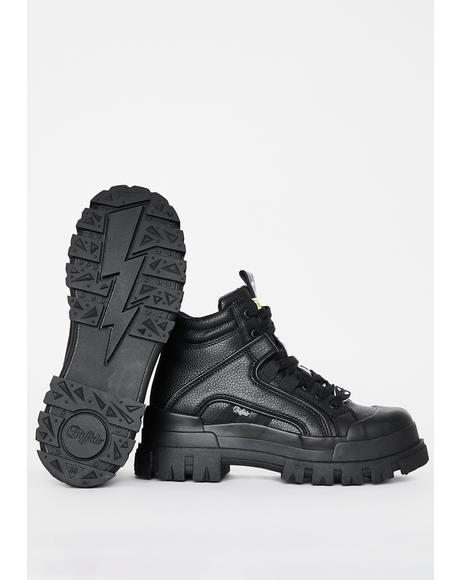 Black Panthera Mid Boots