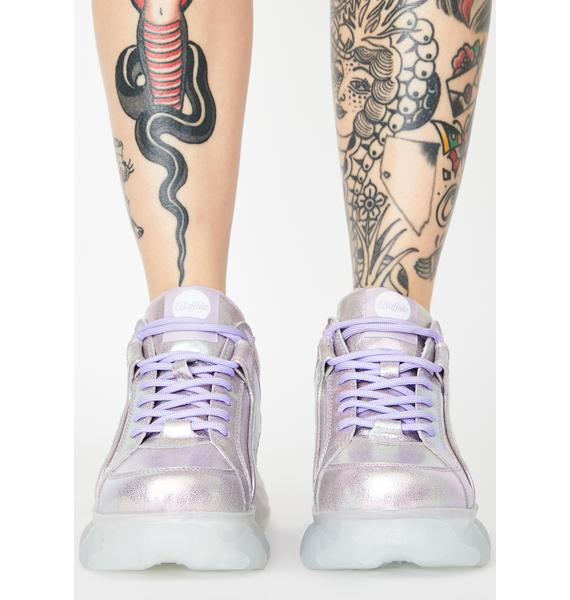Buffalo Purple Corin Platform Sneakers