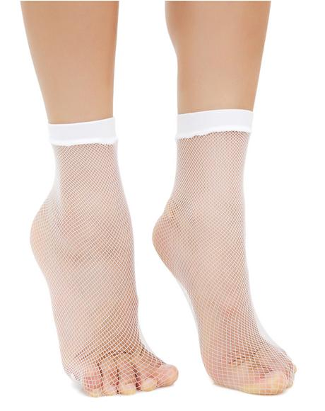 Quick Step Fishnet Socks