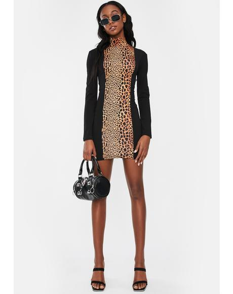 Icon Leopard Mini Dress