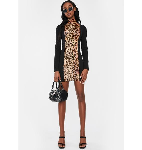 Nana Judy Icon Leopard Mini Dress