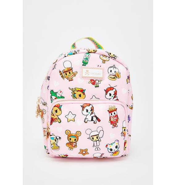 Tokidoki Toki Takeout Mini Backpack