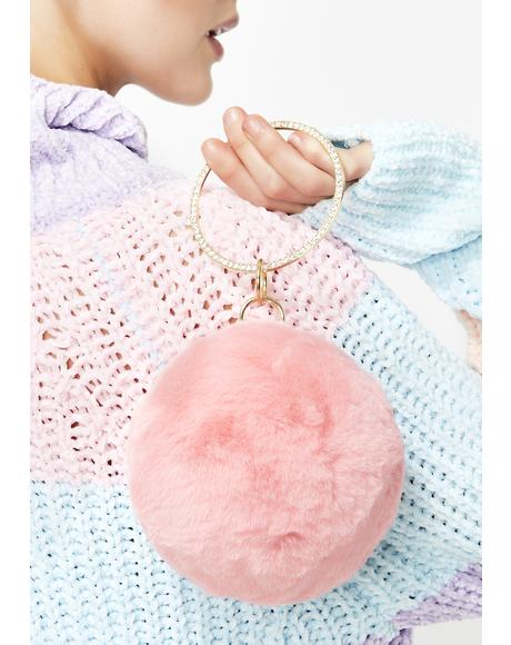 Roll Call Pom Pom Clutch