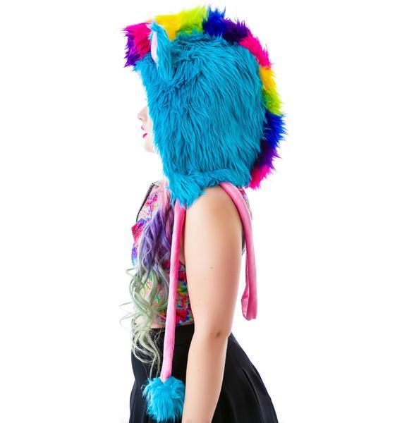 J Valentine My Lil Rainbow Dash Pony Hood