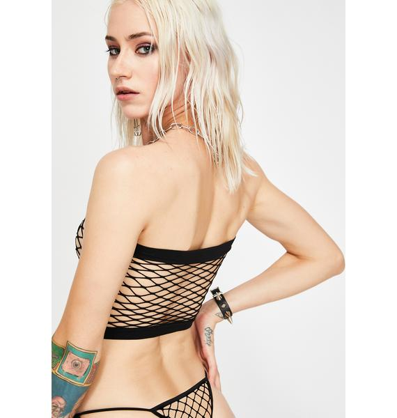 Watch Yourself Fishnet Set