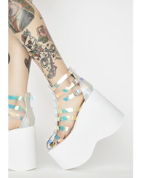 Heaven Star Blasting Platform Sandals