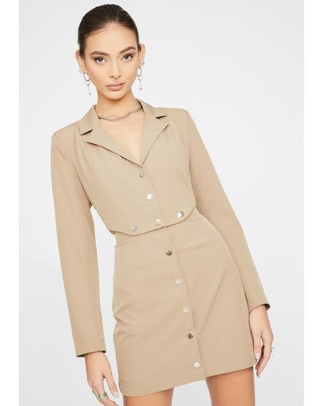Valerie Blazer Dress