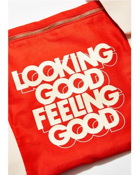 Looking Good Feeling Good Duffel Bag