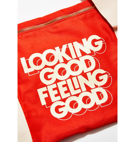 Looking Good Feeling Good Duffel Bag