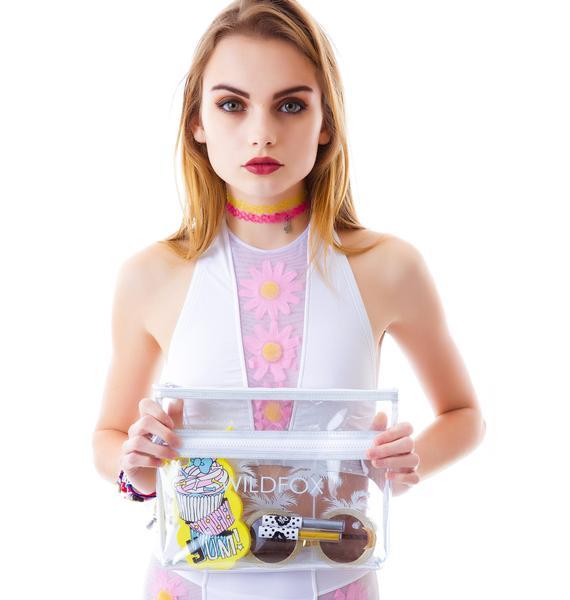 Wildfox Couture Bel Air Palms Vinyl Bikini Bag