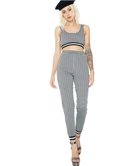 Check It Out Gingham Pants