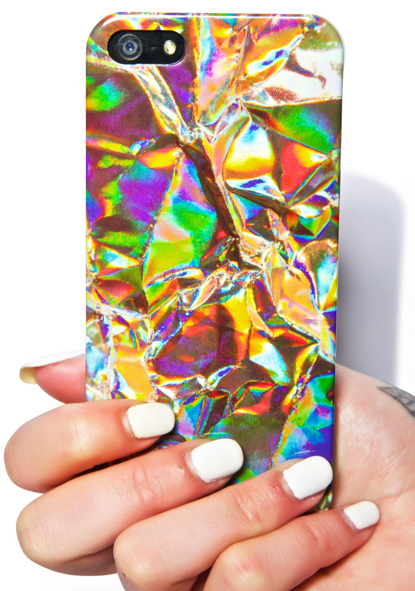 Local Heroes Holographic Foil iPhone 5 Case