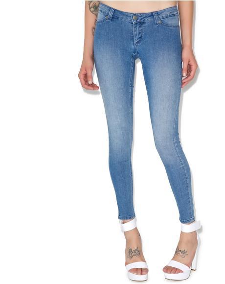 Low Spray Jeans