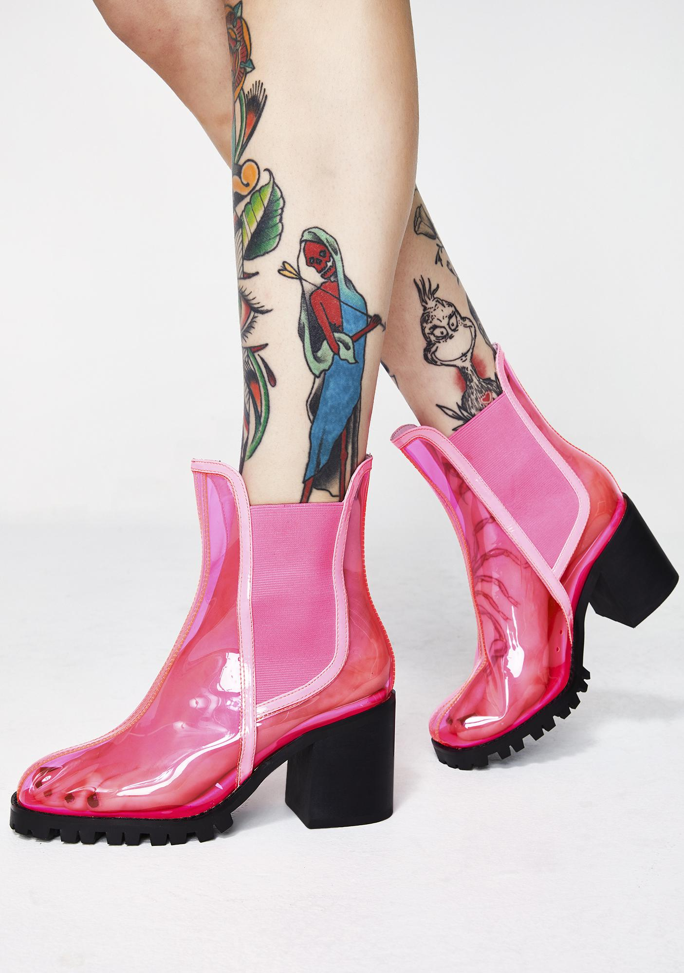 Current Mood Exxtra Electra PVC Booties