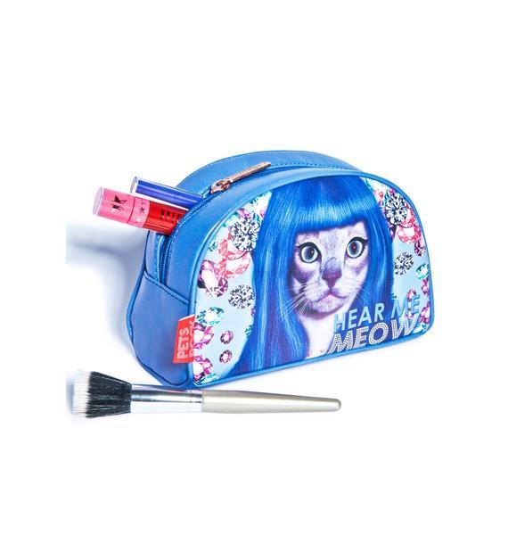 Hear Me Meow Cosmetic Bag