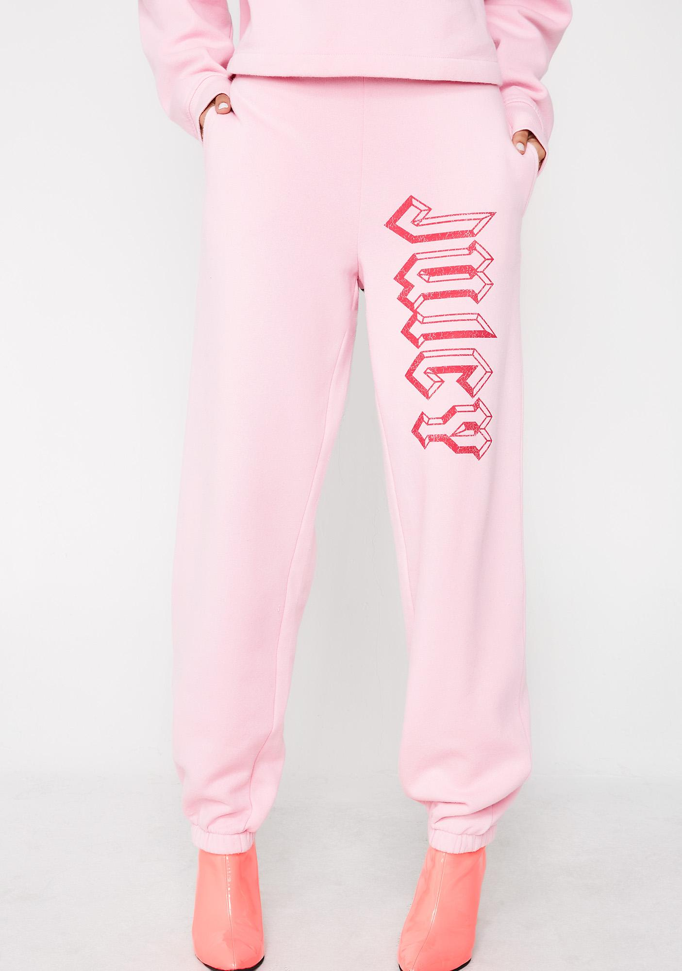 e53cbf0f0cab68 JUICY COUTURE Logo Pants | Dolls Kill